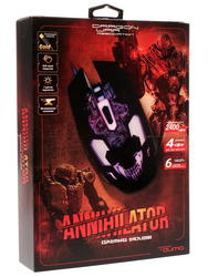 Мышь проводная Qumo Dragon War Annihilator M04
