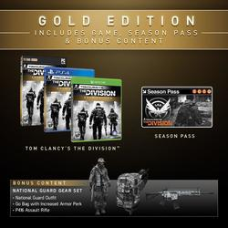 Игра для Xbox One Tom Clancy's The Division Gold Edition