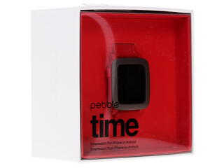 Смарт-часы Pebble Time красный