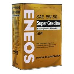 Моторное масло ENEOS SUPER Gasoline Synthetic 5W50 OIL4074