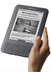 6'' Электронная книга Amazon Kindle Keyboard черный