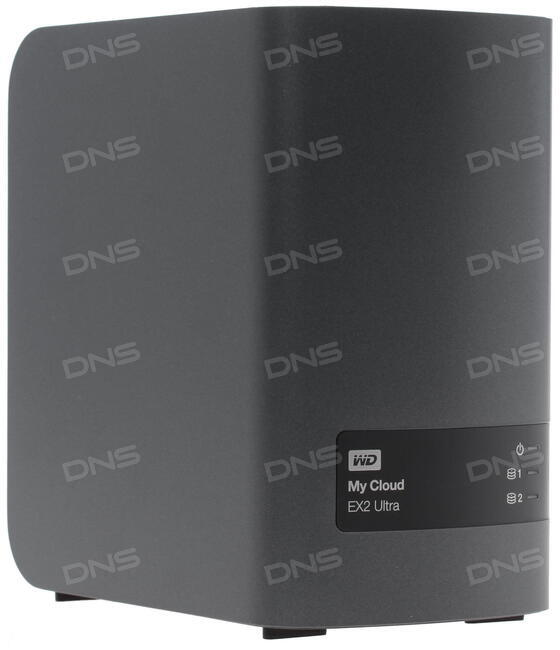 Сетевое хранилище Western Digital My Cloud EX2 Ultra [WDBSHB0080JCH-EEUE]