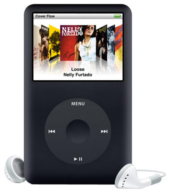 How to hard reset ipod classic 80gb