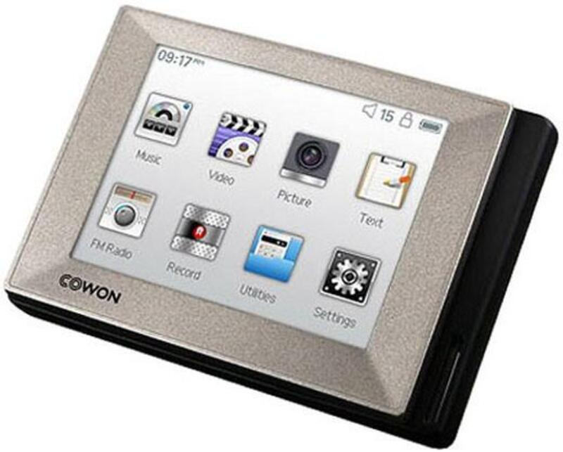 COWON iAUDIO T2 Media Player Download Drivers