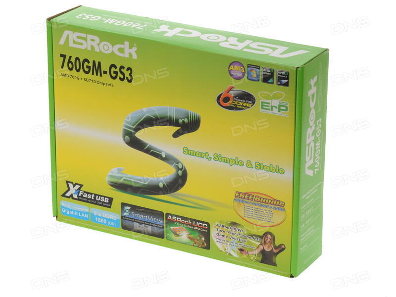 Asrock 760GM-S3 Drivers for Windows XP